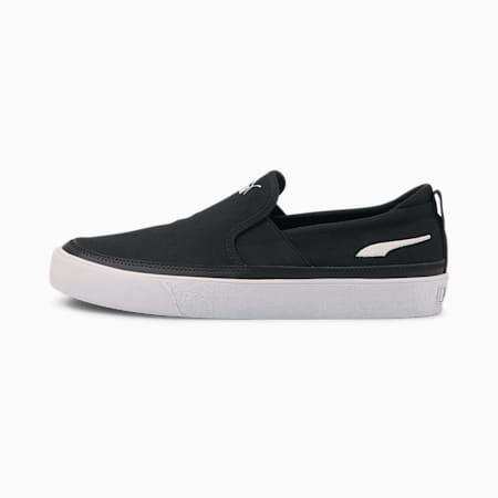 Zapatos sin cordones BariZ para hombre, Puma Black-Puma White, pequeño