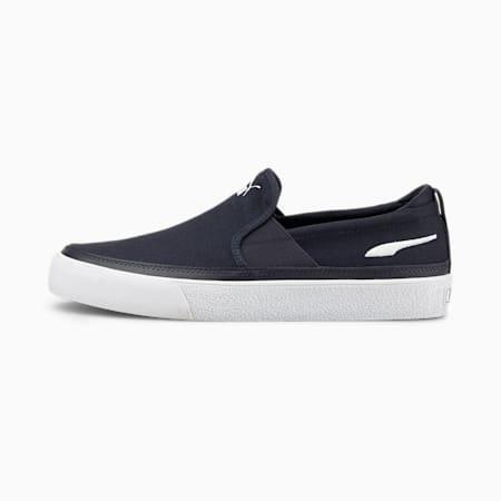 Zapatos sin cordones BariZ para hombre, Puma New Navy-Puma White, pequeño