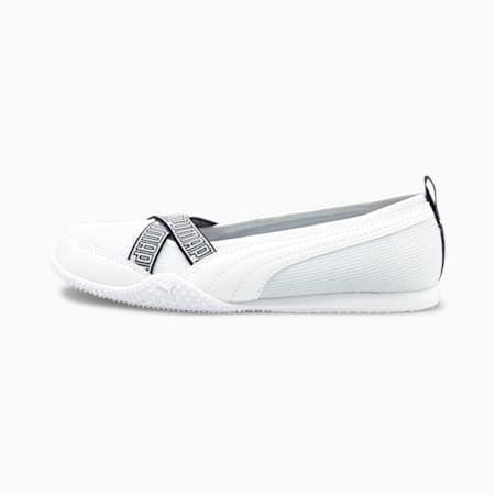 Bella Ballerina Women's Shoes, Puma White-Puma White, small-GBR