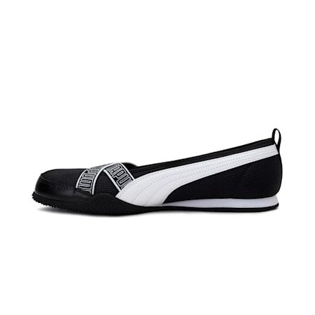 Bella Ballerina Women's Shoes, Puma Black-Puma White, small-IND