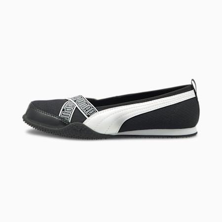 Bella Ballerina Women's Shoes, Puma Black-Puma White, small-SEA