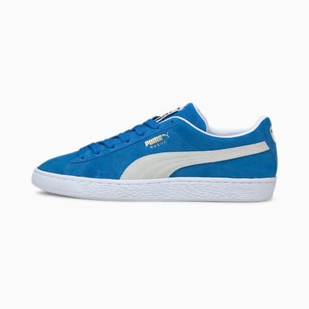 Suede Teams Sneakers, Puma Royal-Puma White, small-IND