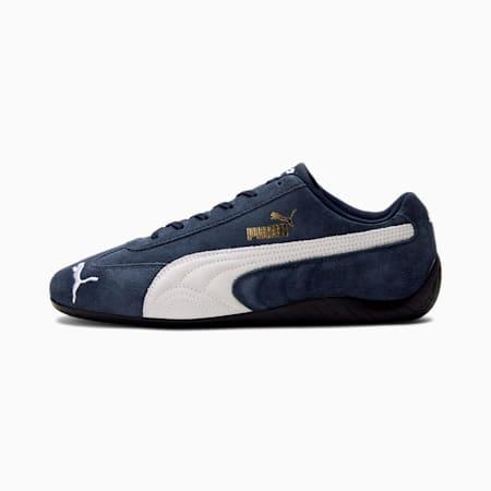 Zapatos de automovilismo Speedcat LS para hombre, Peacoat-Puma White, pequeño