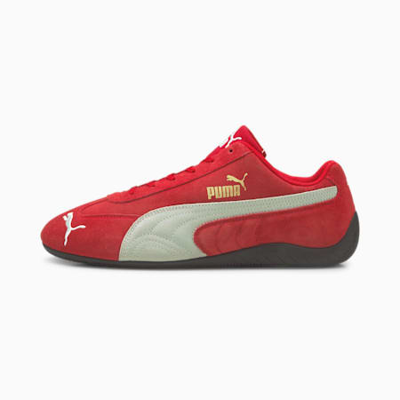 SpeedCat LS Sneaker, High Risk Red-Puma White, small