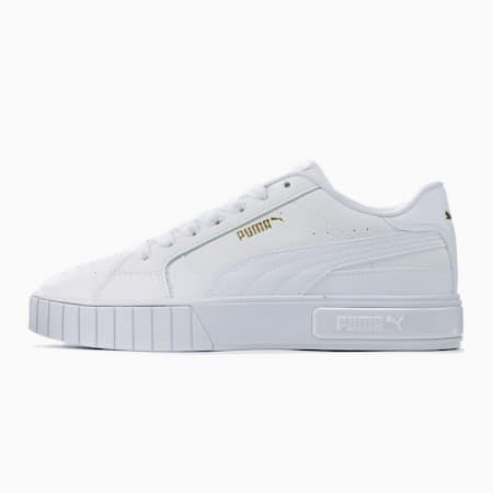 CALI スター ウィメンズ スニーカー, Puma White-Puma White, small-JPN
