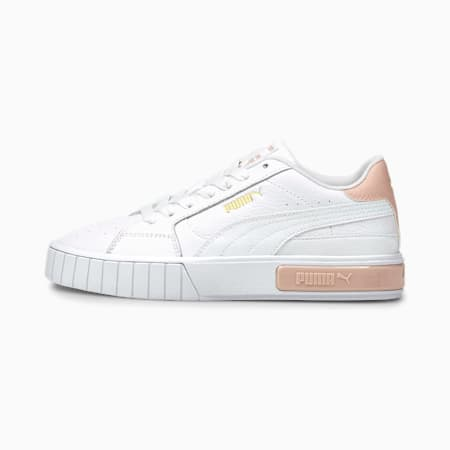 Cali Star Damen Sneaker, Puma White-Peachskin, small