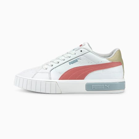 Damskie buty sportowe Cali Star, Puma White-Mauvewood-Blue Fog, small