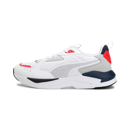 X-Ray Lite Pro Shoes, Puma White-Gray Violet-Peacoat, small-SEA
