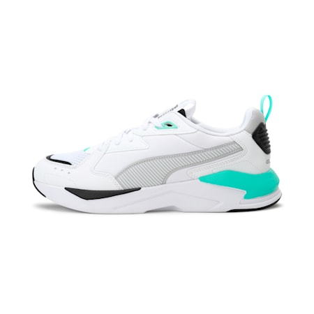 X-Ray Lite Pro Unisex Shoes, Puma White-Gray Violet-Biscay Green, small-IND