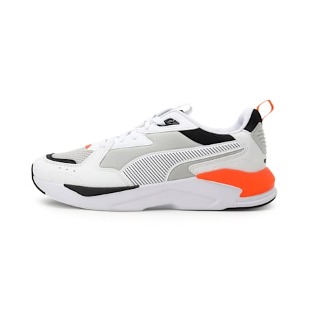 X-Ray Lite Pro Unisex Shoes, Puma White-Gray Violet-Dragon Fire, small-IND