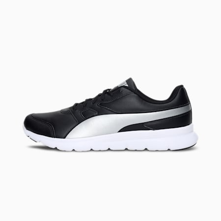 Flex Essential V2 IDP Men's Shoes, Puma Black-Puma White-Silver, small-IND