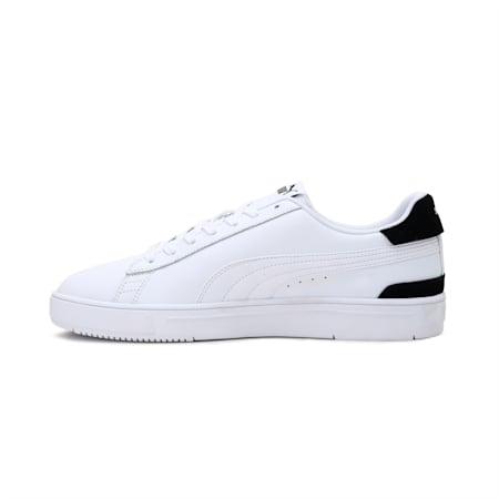 PUMA Serve Pro Unisex Shoes, Puma White-Puma White-Puma Team Gold-Puma Black, small-IND