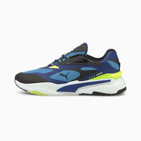 RS-Fast Tech Shoes, Star Sapphire-Black-Y.Alert, small-IND