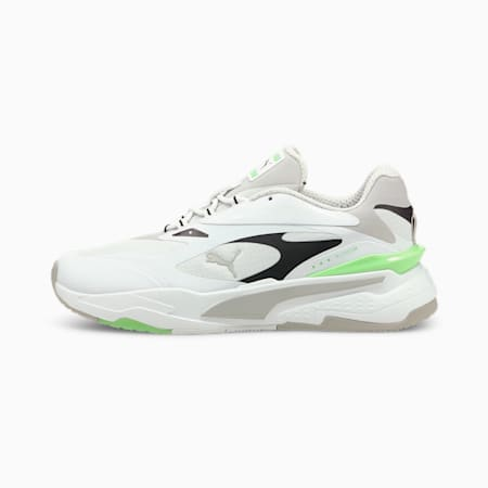 RS-Fast Tech Trainers, White-G.Violet-Elektro Green, small