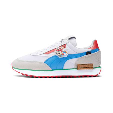 Future Rider Super Mario 64™ Trainers, Puma White-Nrgy Turquoise, small