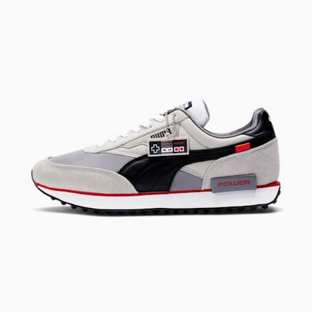 Future Rider Nintendo Entertainment System™ Men's Sneakers, Gray Violet-Puma Black, small