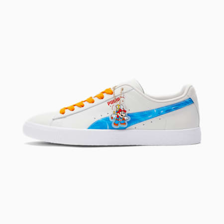 Clyde Super Mario Sunshine™ Men's Sneakers, Whisper White-Angel Blue, small