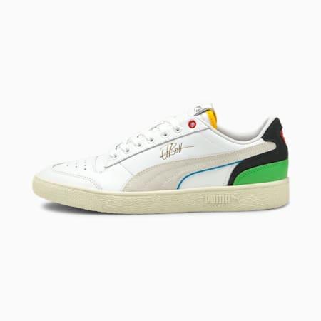 PUMA x USAIN BOLT Ralph Sampson Sneaker, PumaWht-PumaBlck-DresdenBlue, small