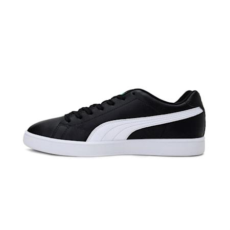 Match Star Unisex Shoes, Puma Black-Puma White-Puma Team Gold, small-IND