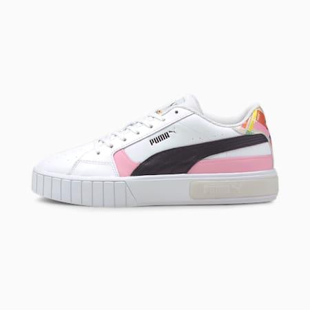 Cali Star INTL Game Women's Sneakers, Puma White-Puma Black, small