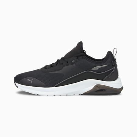 Electron E Pro Unisex Shoes, Puma Black-CASTLEROCK-Puma White, small-IND