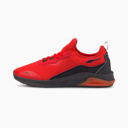 Electron E Pro Sneakers, High Risk Red-Puma Black, small