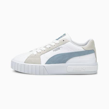 Cali Star Mix sneakers dames, Puma White-Forever Blue, small