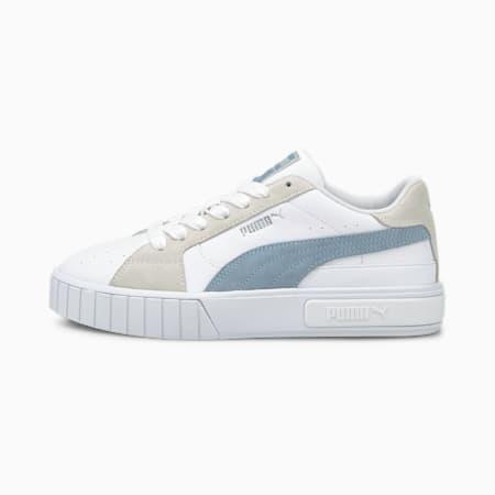 Scarpe da ginnastica Cali Star Mix donna, Puma White-Forever Blue, small