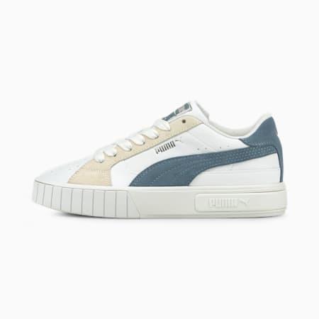 Cali Star Mix sneakers dames, Puma White-China Blue-Ivory Glow, small