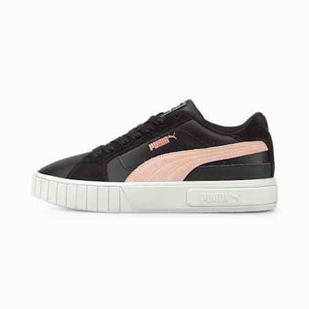 Cali Star Mix sneakers dames, Puma Black-Puma White-Lotus, small