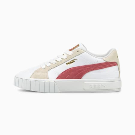 Cali Star Women's Sneakers, Puma White-Mauvewood-Marshmallow, small-GBR