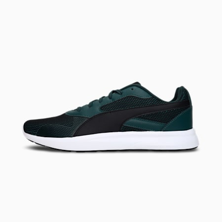 Firefly Men's Shoes, Midnight Green-Puma Black-Spectra Yellow, small-IND