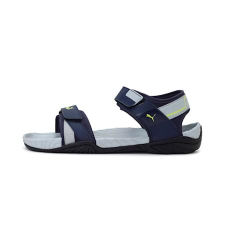 Aqua V1 IDP Men's Sandals, Peacoat-Quarry-Limepunch, small-IND