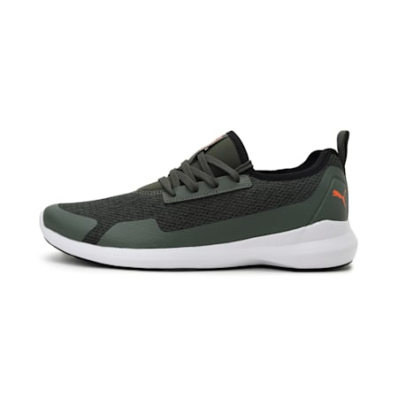Pacer Evo 2.1 Men's IDP Shoes, Thyme-Vibrant Orange, small-IND