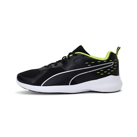 Pacer x Graphicster V1 IDP Men's Shoes, Puma Black-Limepunch-Silver, small-IND