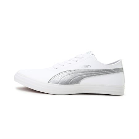 Cayden Move IDP Women's Sneakers, Puma White-Silver, small-IND