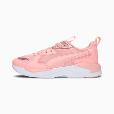 X-Ray Lite Pro Metallic Women's Sneakers, Peach Bud-White-Rose gold, small-IND