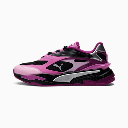RS-Fast Metallic Sneakers JR, Black-Silver-Spring Crocus, small