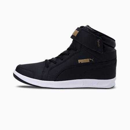 one8  Prime Mid V3 Men's Shoes, Puma Black-Puma Team Gold, small-IND