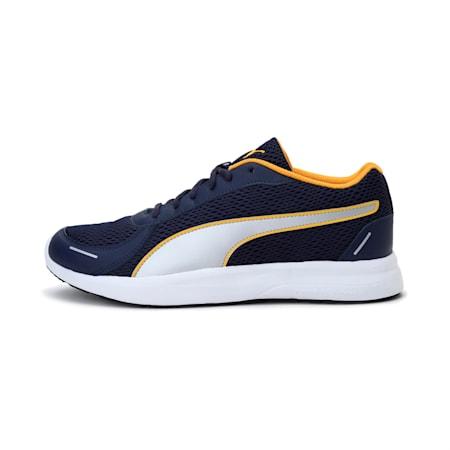 Propel Men's V1 IDP Shoes, Peacoat-Saffron-Silver, small-IND