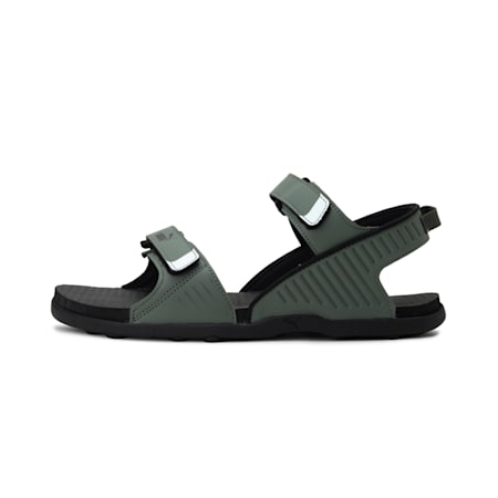 Shade IDP Men's Sandals, Thyme-Puma Black-Puma White, small-IND