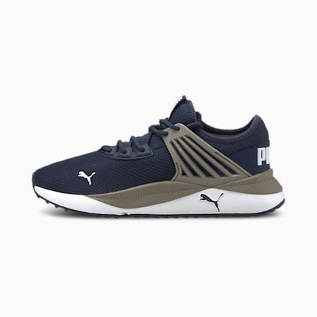 Zapatos deportivos Pacer Future para hombre, Peacoat-Steel Gray-Puma White, pequeño
