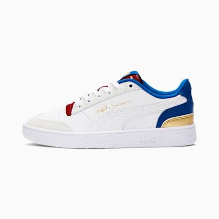 Ralph Sampson Lo Royal Sneakers JR, PWhite-Lapis Blue-Red Dahlia, small