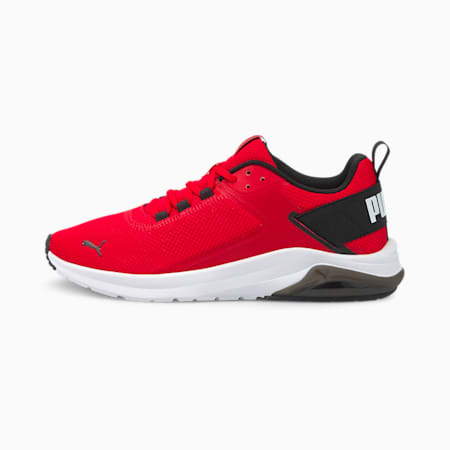 Electron E Unisex Shoes, High Risk Red-Puma Black, small-IND