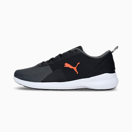 Pacer Laser IDP Men's Shoes, Puma Black-Dragon Fire-Dark Shadow, small-IND