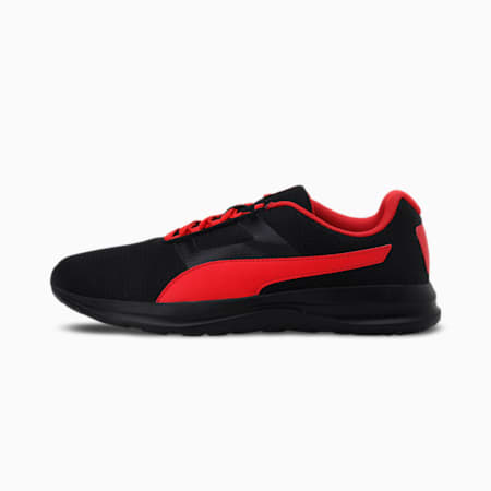 Flex Extreme IDP Men's Shoes, Puma Black-High Risk Red, small-IND