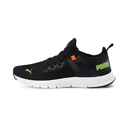 Flex Fire V1 Men's  IDP Shoes, Puma Black-Limepunch, small-IND