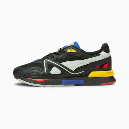 Mirage Mox Trainers, Puma Black-Gray Violet, small