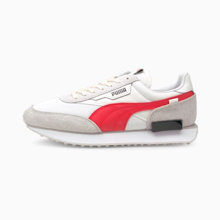 Future Rider Vintage Sneaker, Puma White-Nimbus Cloud, small