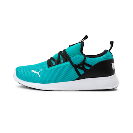 PUMA Cross IDP Women's Shoes, Puma Black-Spectra Green, small-IND